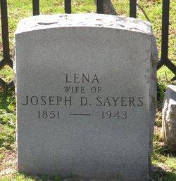 Lena <i>Walton</i> Sayers
