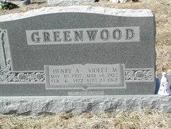 Violet Mae <i>Gamble</i> Greenwood