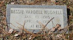 Bessie Vardell Hudnell