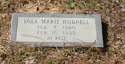 Lola Marie Hudnell