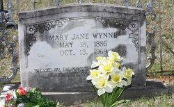 Mary Jane <i>Durnell</i> Wynne
