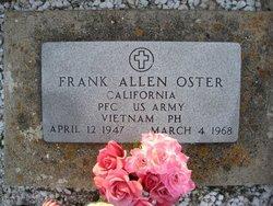 PFC Frank Allen Oster