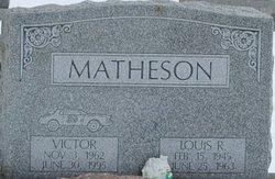 LOUIS RICHARD MATHESON