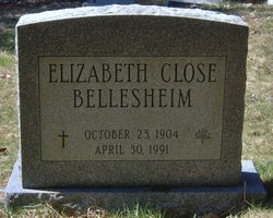 Elizabeth Hettie <i>Close</i> Bellesheim