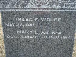 Mary Elizabeth <i>McCloud</i> Wolfe