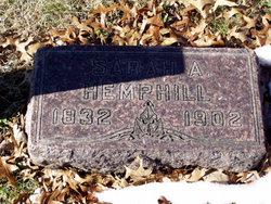 Sarah A. <i>Hutchison</i> Hemphill