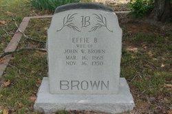 Effie Beatrice <i>Roberts</i> Brown