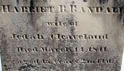 Harriet Douglas <i>Randall</i> Cleaveland