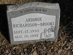 Ardinue <i>Richardson</i> Brooks