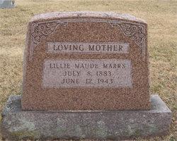 Lillie Maude <i>Alexander</i> Marrs
