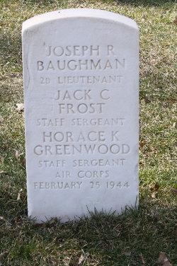 2LT Joseph R Baughman