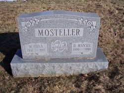 M Edna Mosteller