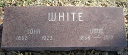 Elizabeth Lizzie <i>Halleck</i> White