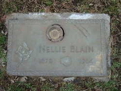 Nellie May Nell <i>Wolfe</i> Blain