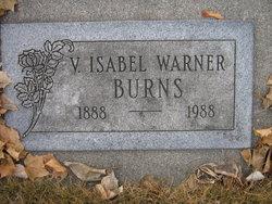 V. Isabel <i>Warner</i> Burns
