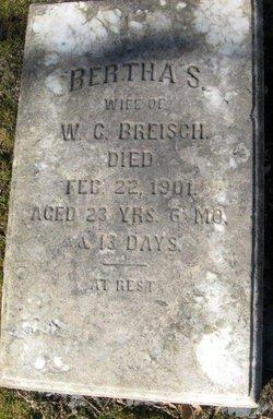 Bertha <i>Siegfreid</i> Breisch