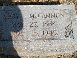 Mary Frances Fanny <i>Bailey</i> McCammon