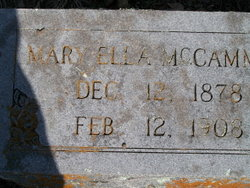 Mary Ella McCammon