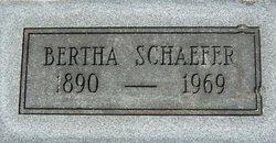 Bertha Schaefer