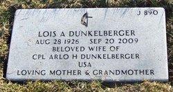 Lois A. <i>Schlosser</i> Dunkelberger
