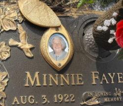 Minnie Faye <i>Dills</i> Ayers