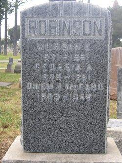 Georgia Ann <i>Hill</i> Robinson
