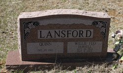 Willie Flo <i>Durnell</i> Lansford