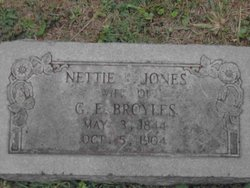Henrietta Bruce Nettie <i>Jones</i> Broyles