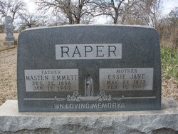 Essie Jane <i>Leatherwood</i> Raper