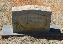 Myrtle Brown Edens