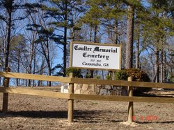Coulter Memorial Cemetery