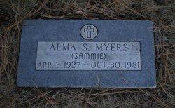 Alma S 'Sammie' Myers