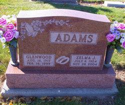 Zelma Jeanette <i>Walters</i> Adams