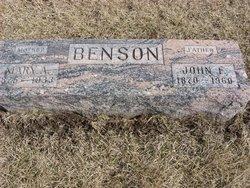 Mary Alice <i>Bible</i> Benson