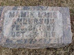 Mamie <i>Lane</i> Anderson