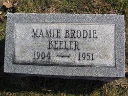 Mamie <i>Brodie</i> Beeler