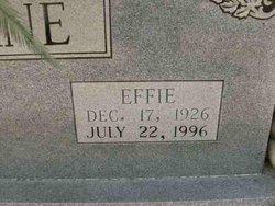 Effie <i>Connell</i> Lane