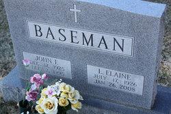 John F Baseman