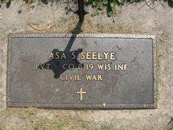 Asa S Seelye