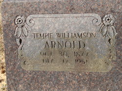 Tempie Alice <i>Williamson</i> Arnold