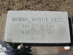Bobby Wayne Hess