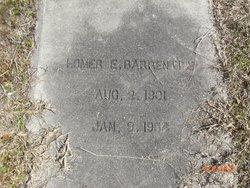 Homer E. Barrentine