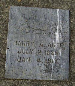 Harry A. Agee