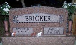 Myrtle D <i>Knittle</i> Bricker