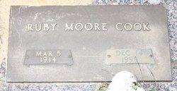Ruby <i>Moore</i> Cook