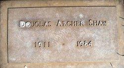 Douglas Archer Shaw