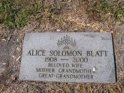 Alice <i>Solomon</i> Blatt