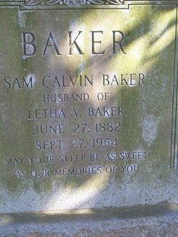 Samuel Calvin Baker