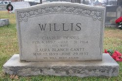Laura Blanch <i>Gantt</i> Willis