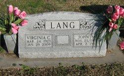 Virginia C. Lang
